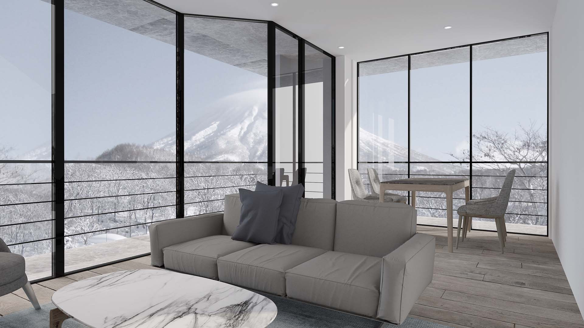 Shinka Niseko Living Room
