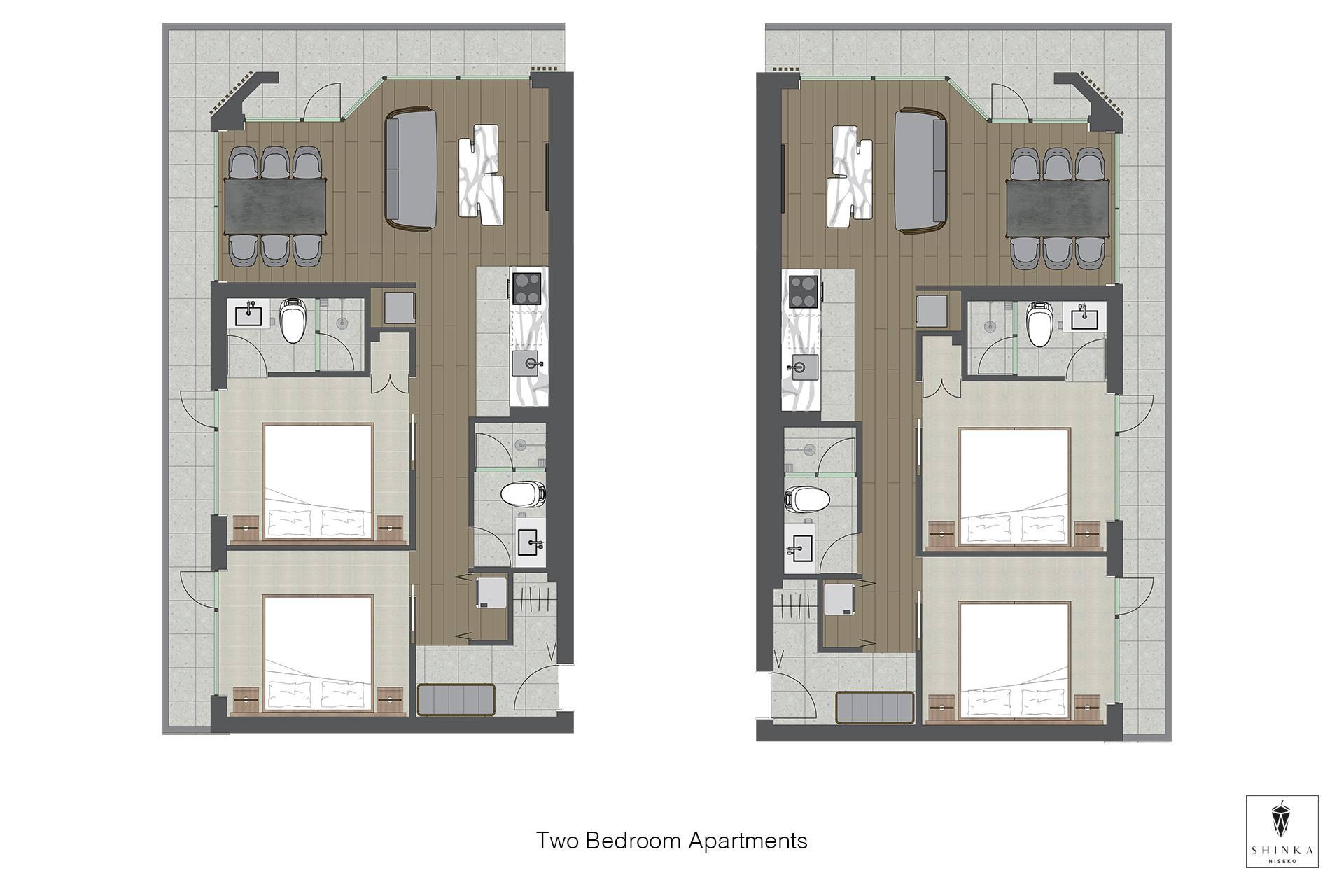 Shinka 2BR Floorplan